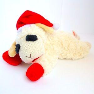 Lamb Chop squeaker dog/child plush toy